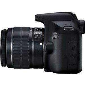 Canon EOS 2000D DSLR 24.1MP Camera